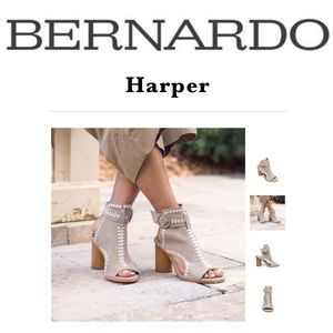 Bernardo Harper Embroidered Shooties 6.5